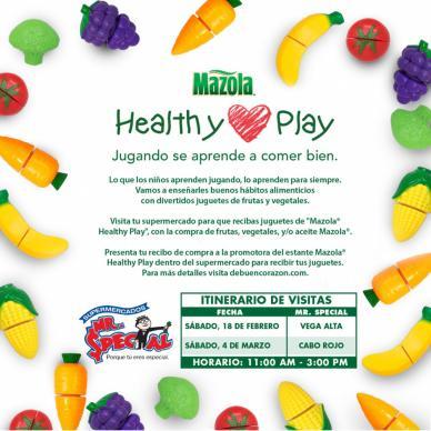Mazola Healthy Play